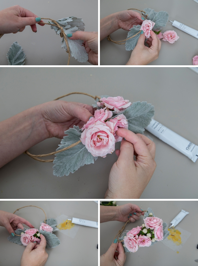 Making flower crowns is easier than you think, here's how!