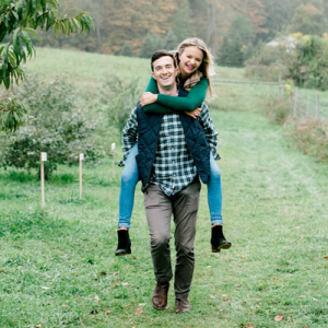 We're crushing on this adorable farm engagement session on the blog now!