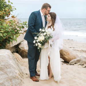 You're NOT going to want to miss this stunning handmade beach wedding! No words to describe how stunning!