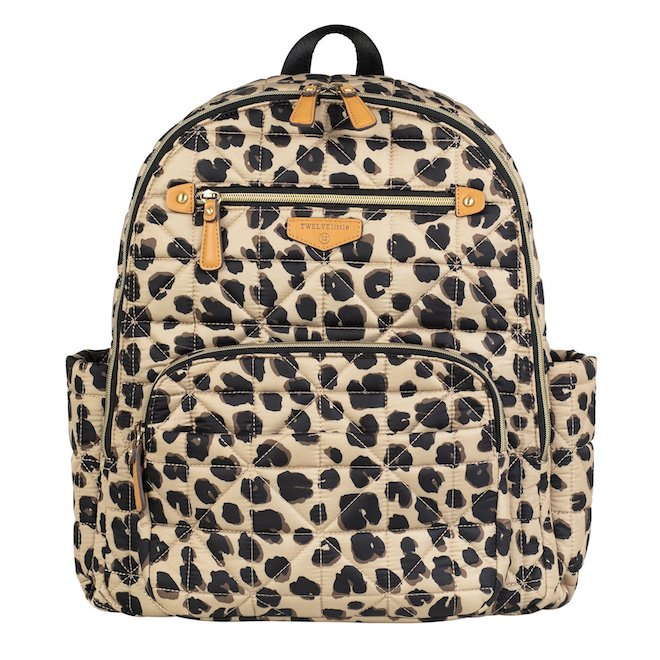 MEOW! A diaper bag that doesn't even look like a diaper bag. This diaper bag backpack is totally something I'd wear!