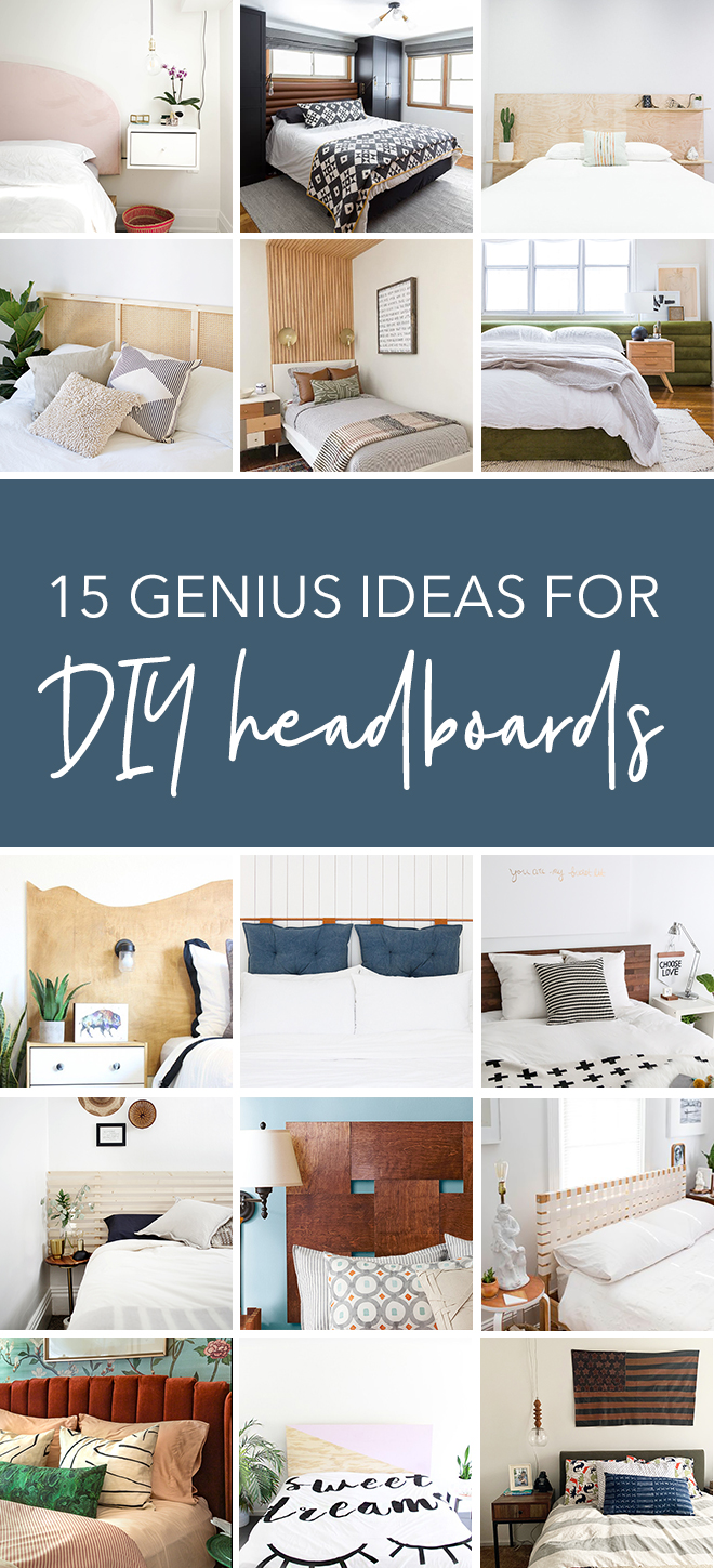 You Have To See These 15 Genious Diy Headboard Ideas