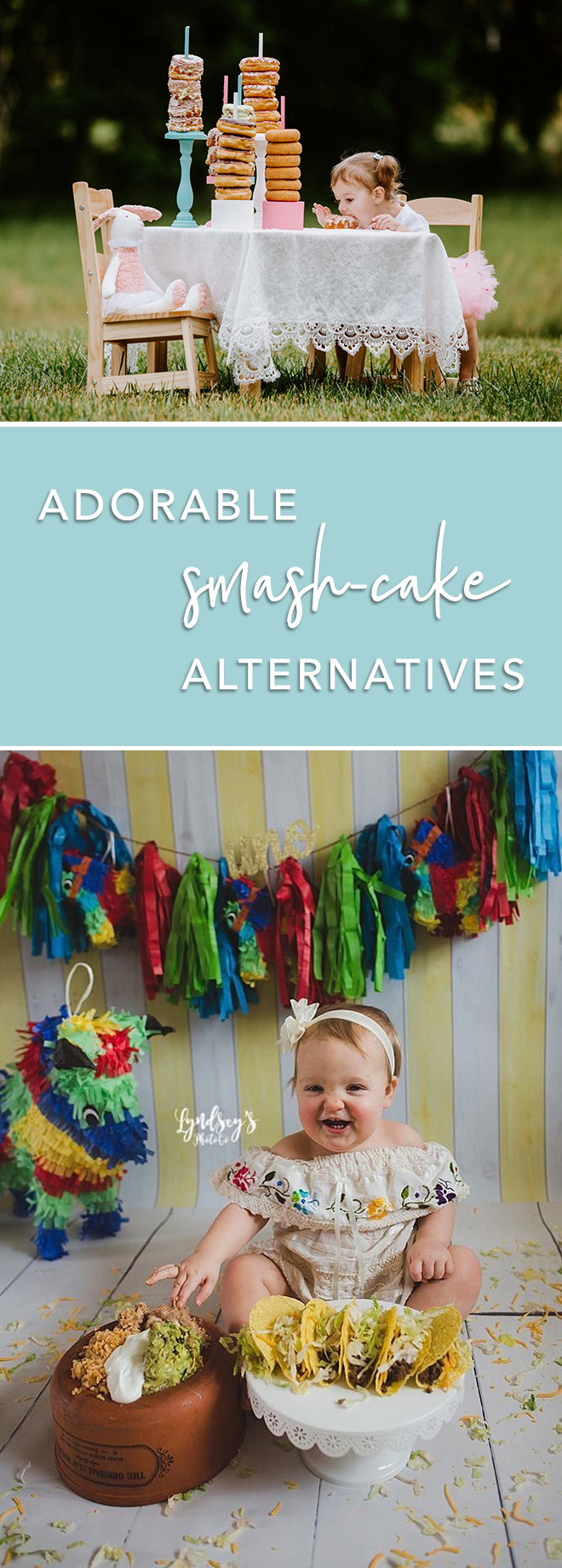 """Adorable """"smash-cake"""" alternatives for your babies first birthday"""