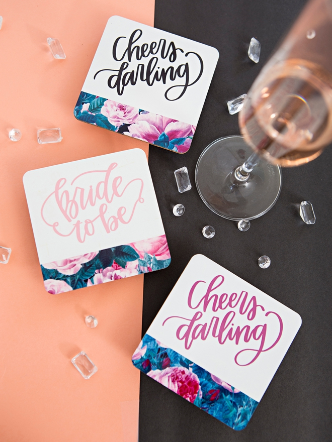 Learn how to use Cricut's Infusible Ink for your bridal party gifts!
