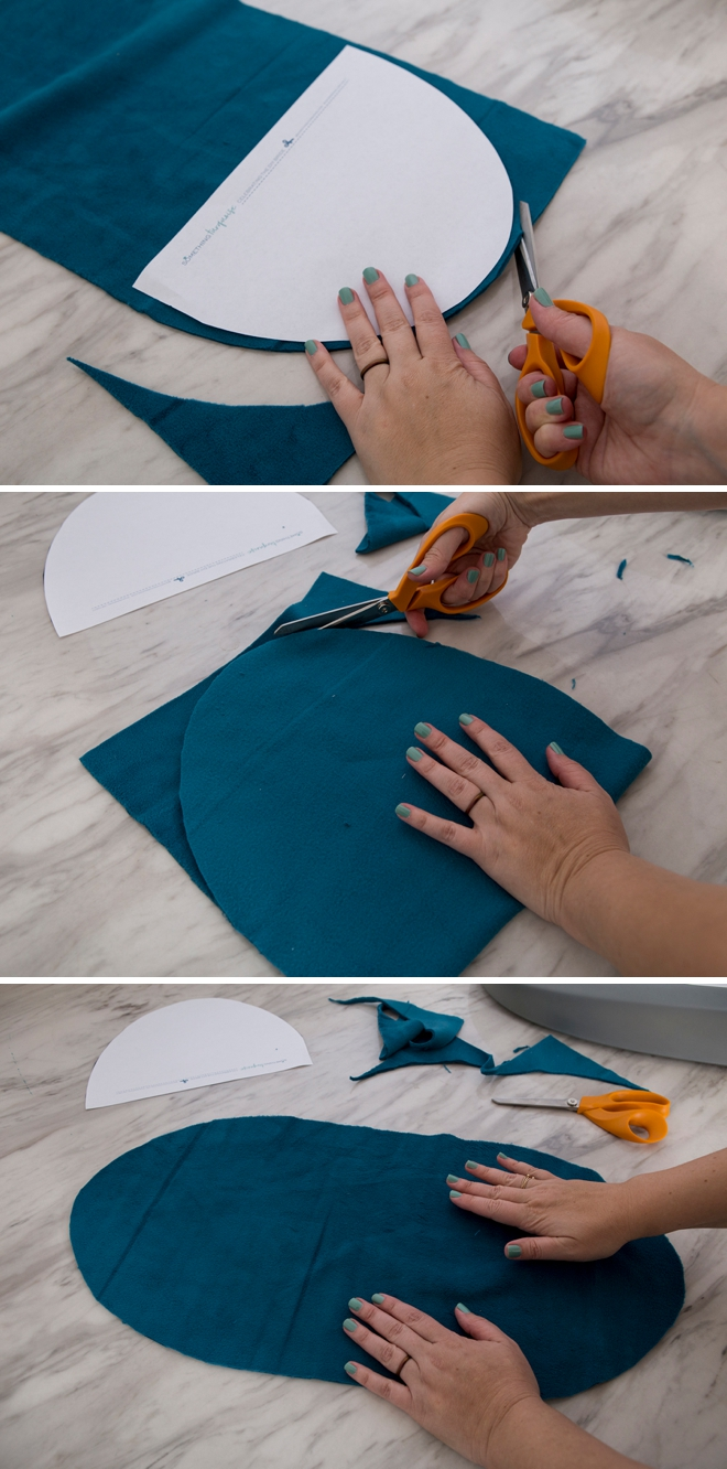 How to make fleece liners for your Hatch Baby Changing Pad