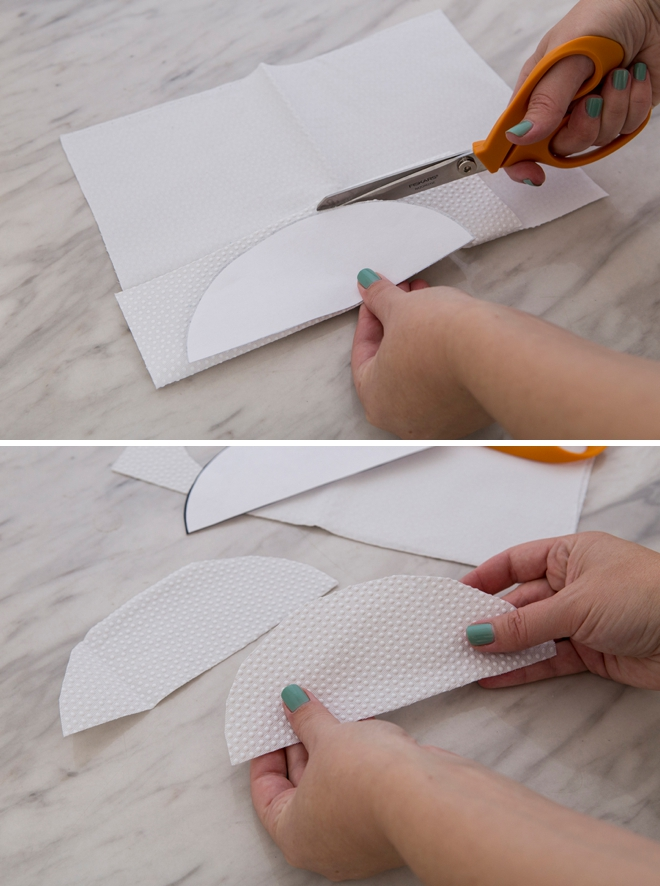 Make your own rubber changing pad liners without sewing!