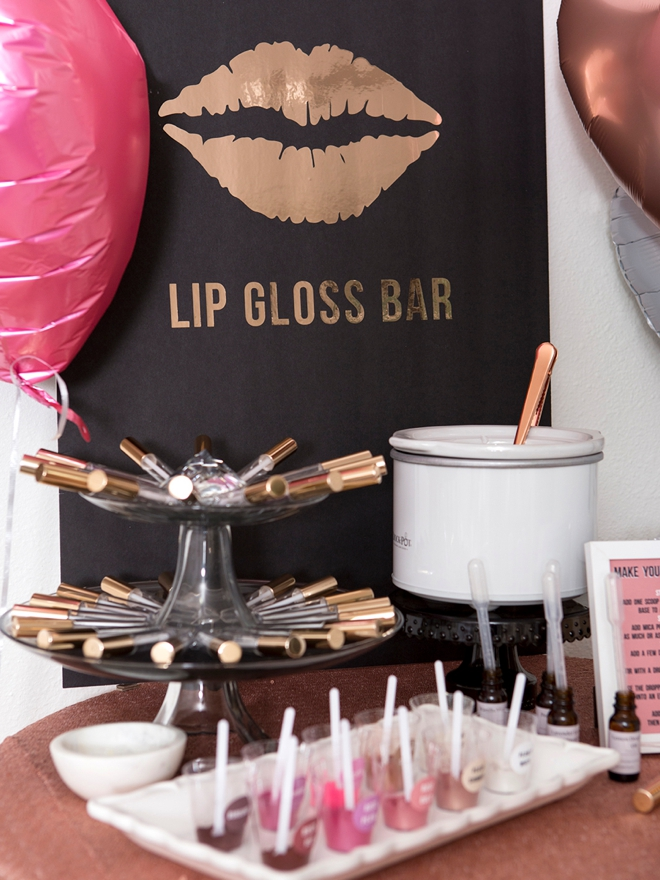 Learn how to make your own custom lip gloss!