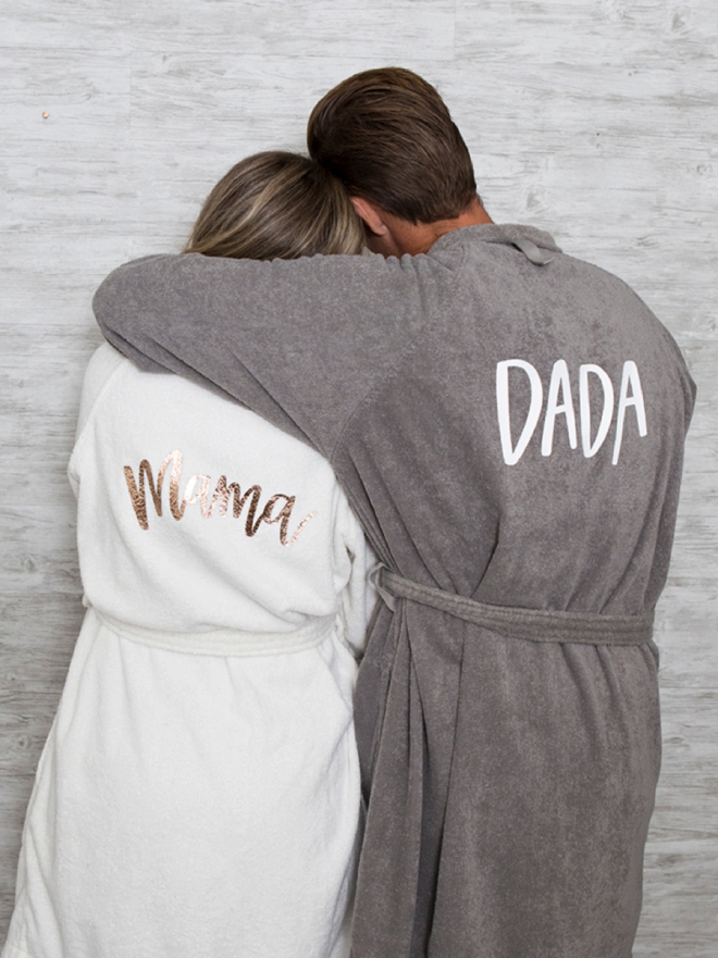 Make your own Mama and Dada robes!