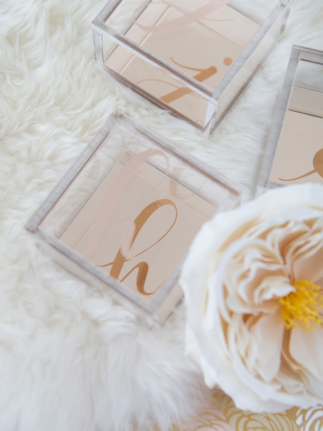 Make your bridesmaids a gift they'll actually keep!