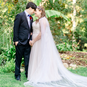 We can't get enough of this gorgeous celestial themed DIY wedding!