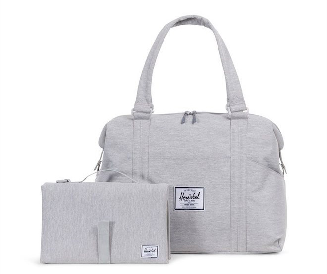 Finally! A diaper bag my husband would want to carry too! Not too girly, but still super cute (and super useful).