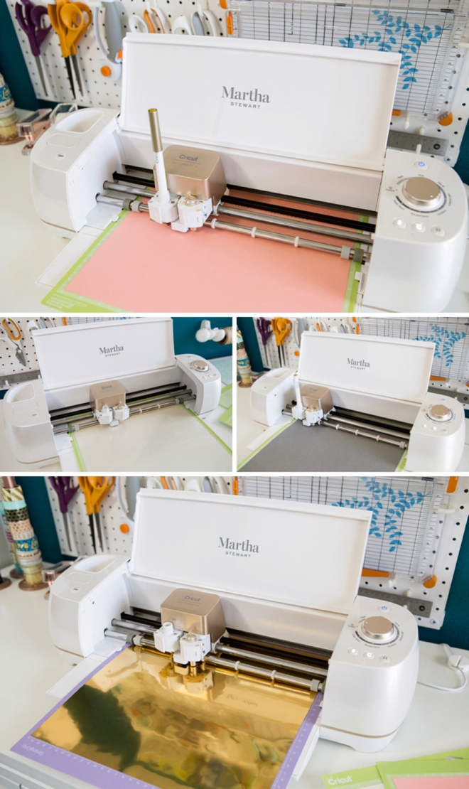 Let your Martha Stewart Cricut Explore Air2 assist you in all your wedding crafting!