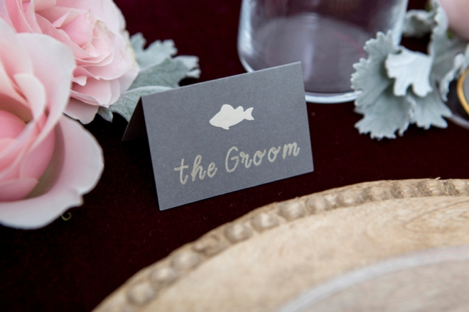 Learn how to make adorable custom Entree Seating cards using your Cricut Explore!