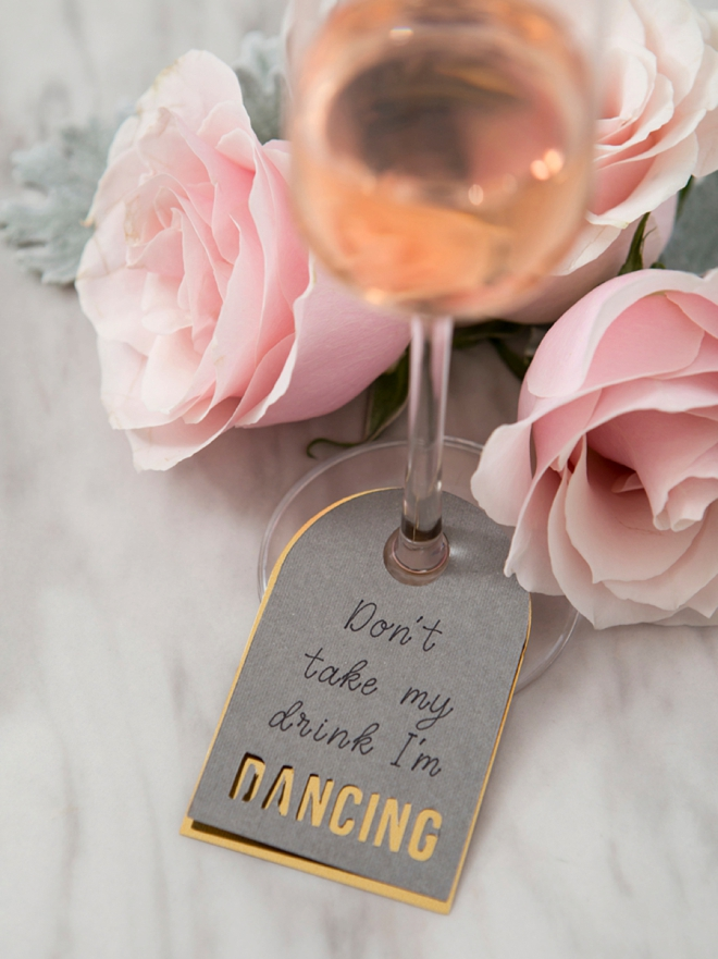 Learn how to make Don't Take My Drink I'm Dancing Cards using your Cricut Explore!