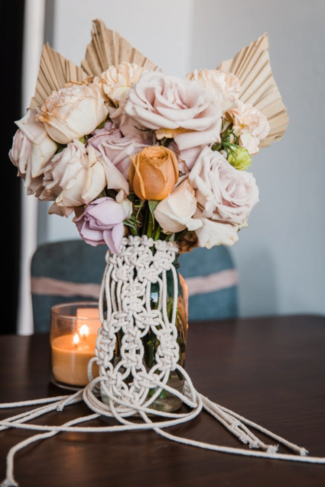 How To Create A Macrame Floral Bouquet Wrap!