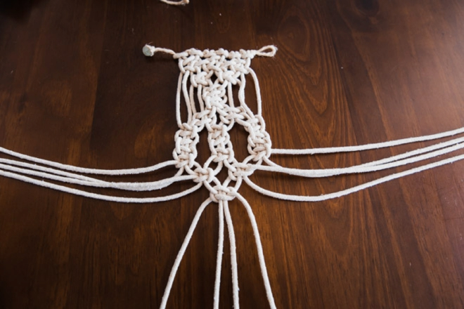Learn how to make macrame items for your boho wedding!