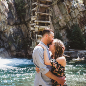 We're currently crushing on this fun couple and their playful engagement session on the blog now!