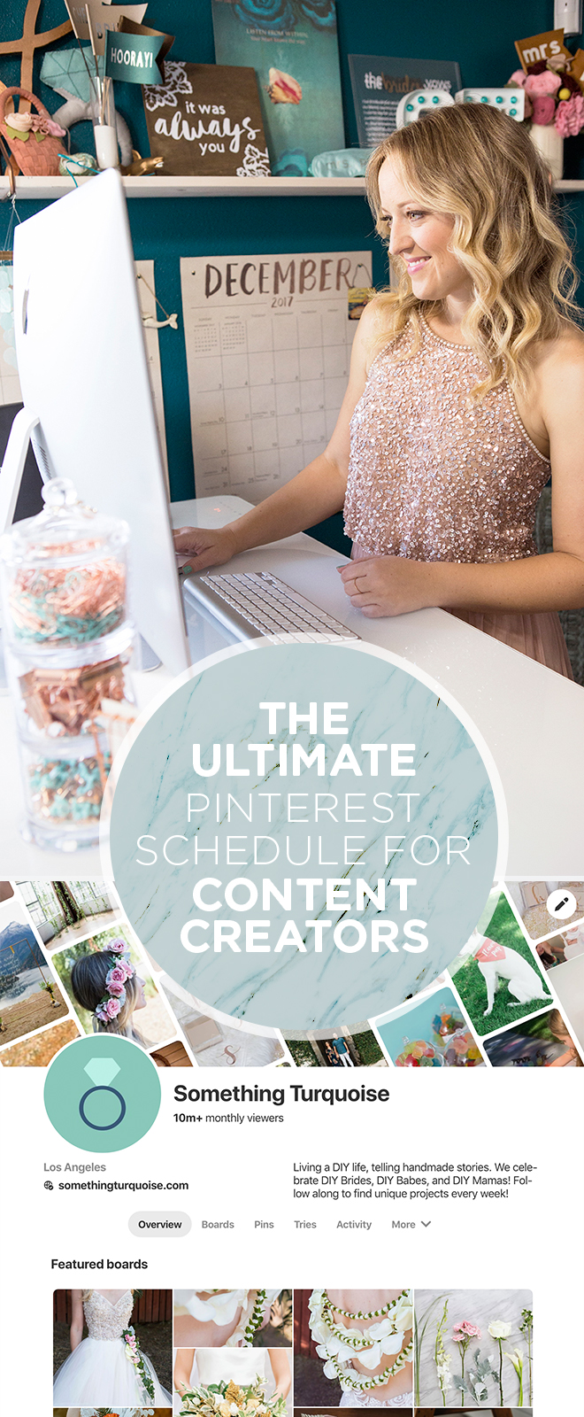 Our Ultimate Pinterest Pinning Schedule (and advice) for content creators!