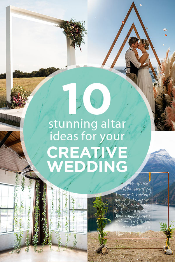 WOW! You have to see these ten stunning altar ideas!