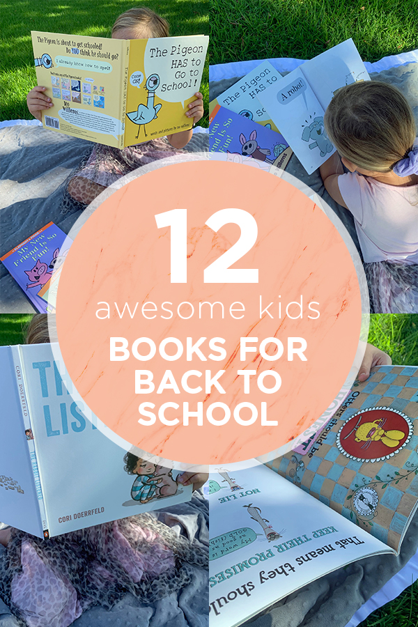 12 fun books for Back to School time or anytime!