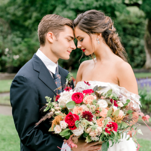 OMG! You don't want to miss a snap from this gorgeous styled garden wedding!