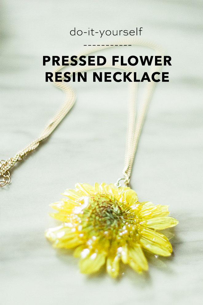 Preserve your wedding flowers with this simple resin pressed flower DIY!