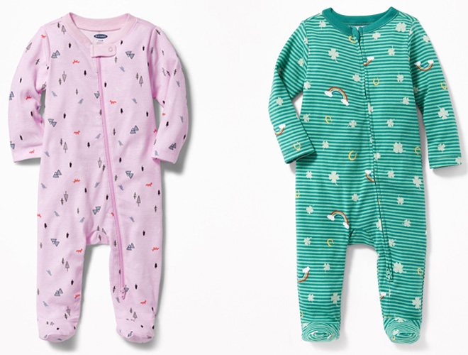 Love these affordable zippered onesies for babies. I originally purchased ones with buttons, but these are so much easier!