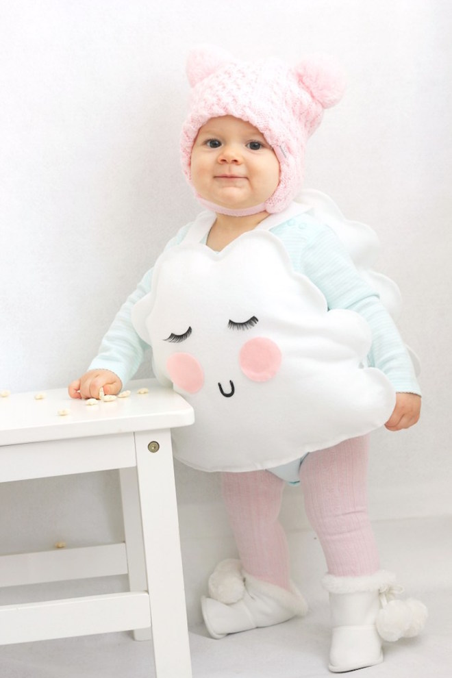 Scary Adorable DIY No Sew Halloween Costume Round-up