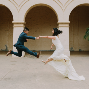 We are LOVING this super cute and fun San Diego couple and their big day!