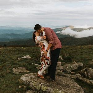 We're crushing on this fun Fall Tennessee engagement shoot in Roan Mountain State Park! Don't miss a snap!