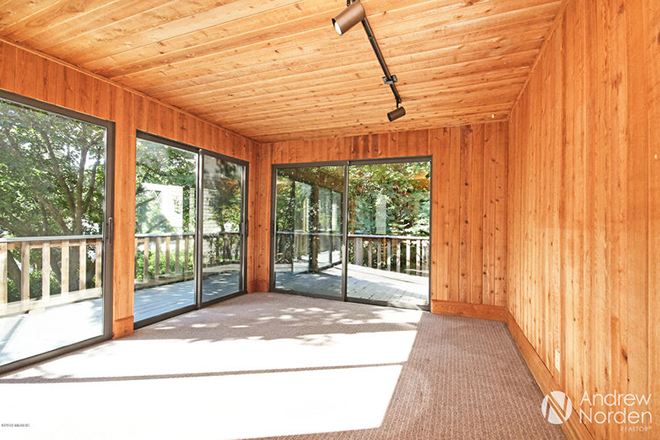 Bright and Modern Sunroom Makeover - before