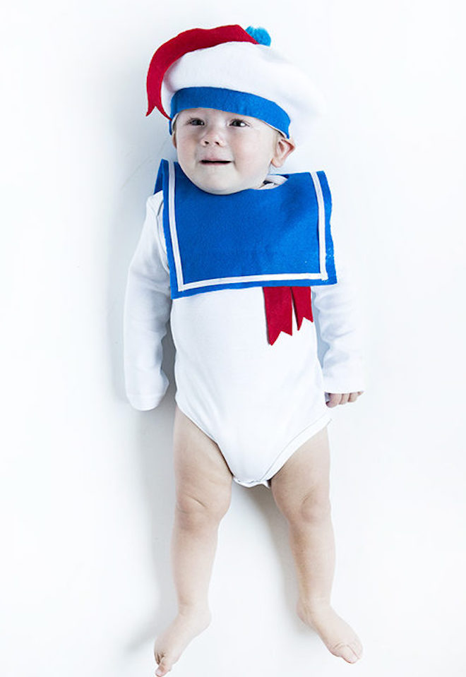 Scary Adorable DIY No Sew Halloween Costumes