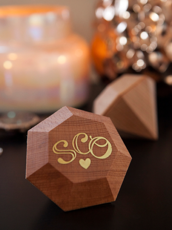 Personalized ring boxes with Cricut!