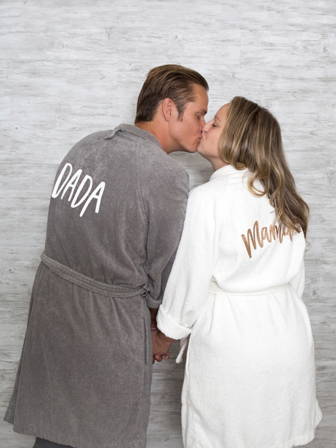 Personalized robes for the holiday season using your Cricut!