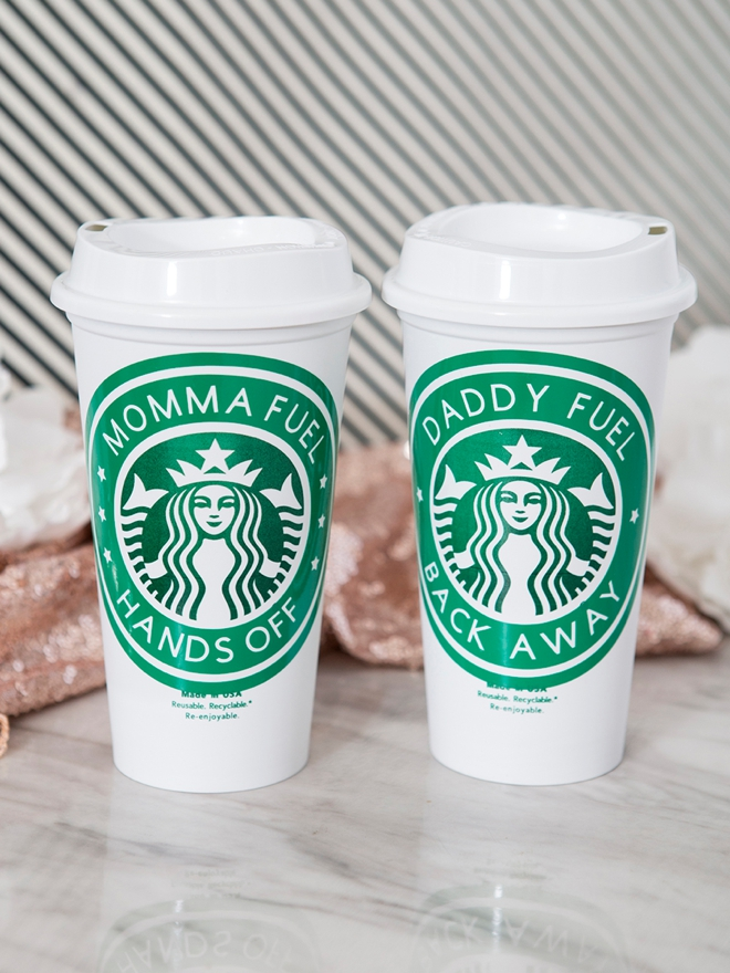 Personalized Starbucks tumblers for the coffee lover in your life!
