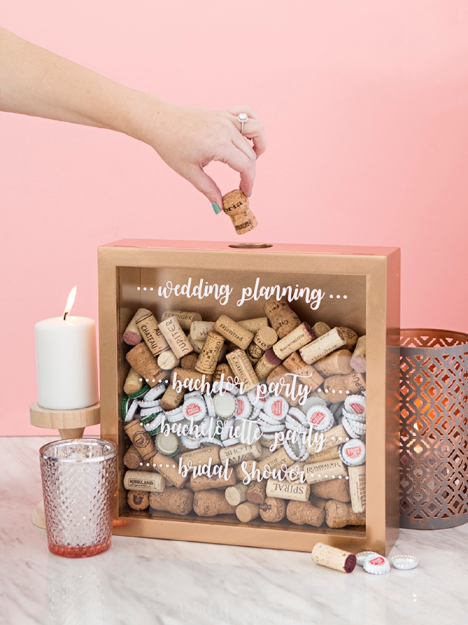 Cork keepsake frames are the perfect gift for the drinker on your list!