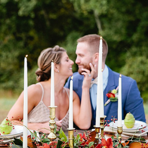 OMG! We're in LOVE with this gorgeous jewel toned styled elopement!
