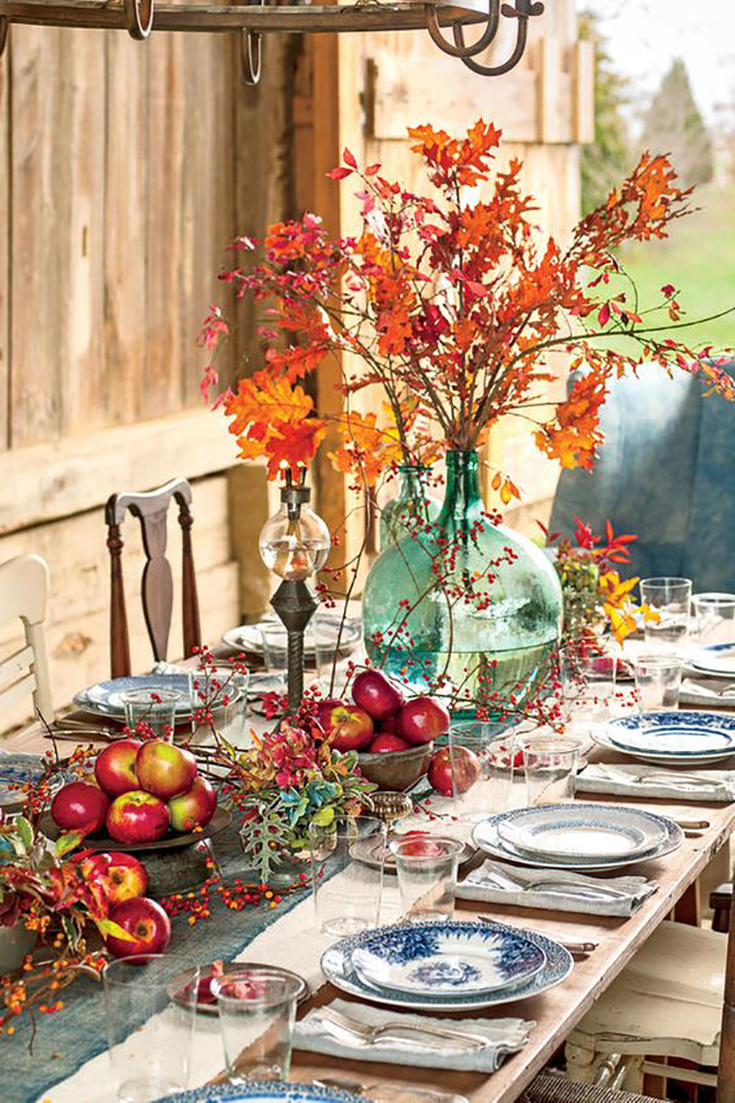 Awesome DIY Thanksgiving Centerpiece Round-up!