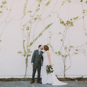We are in LOVE with this adorable couple and their dreamy wedding on the blog now! Don't miss it!