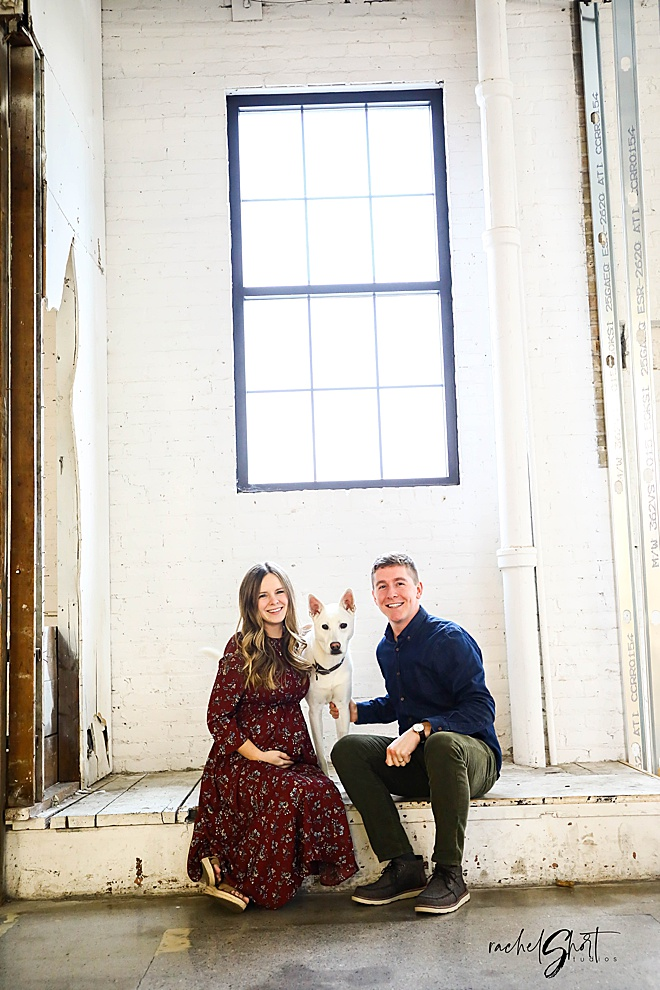 MUST SEE! Darling Industrial Minnesota Maternity Session