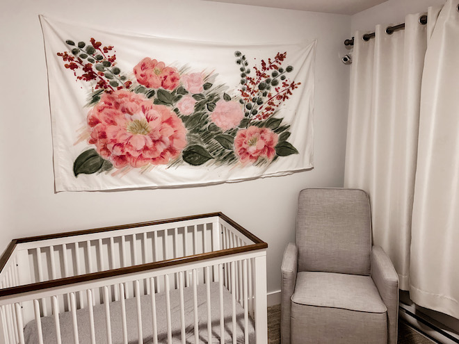 "This nursery makover is INSANE! Wait until you see the ""after"" photo. #diy"