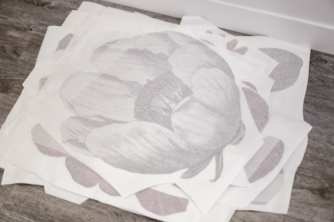 OMG these massive floral decals are everything! They are a little vintage and not too girly - I just love them!!!