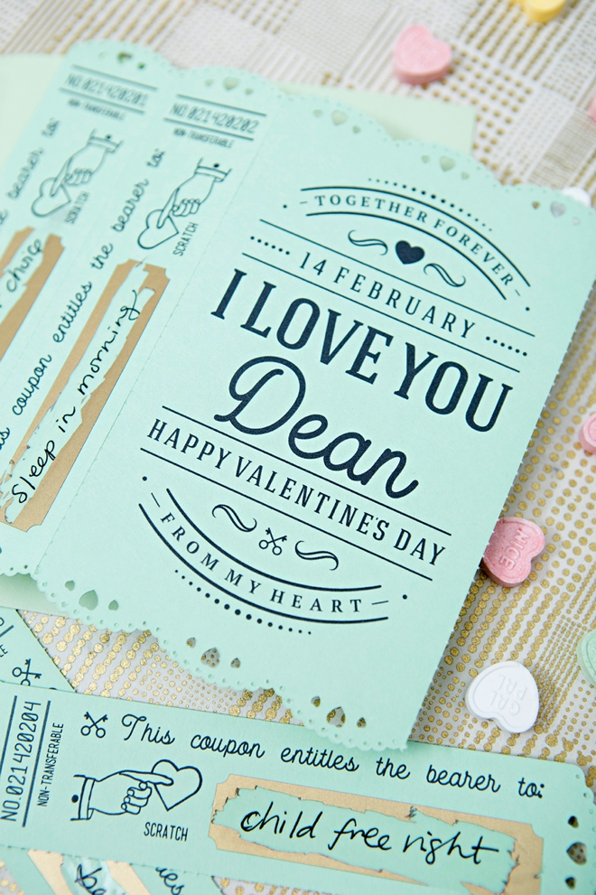 Personalize and cut these amazing valentine cards with your Cricut Maker!