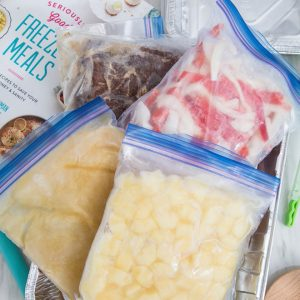 My post-partum freezer meal success story!