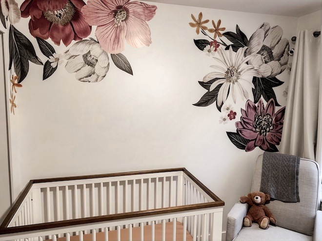 These Eden wall decals look so easy to install! I love them in a nursery but could also see them in a home office or living room!