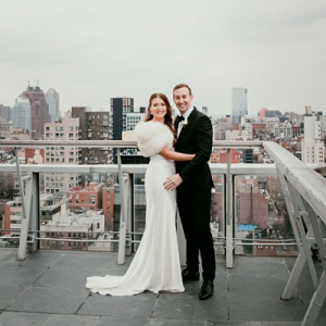 We are in LOVE with this dreamy DIY downtown NYC wedding on the blog now!