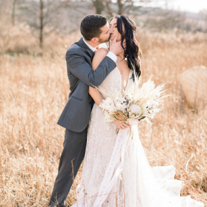 We are in LOVE with this stunning styled monochromatic Winter wedding on the blog! Get ready to be inspired with this boho shoot!