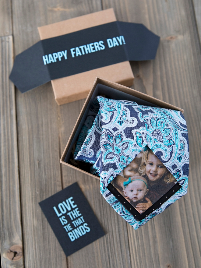 fathers day photo tie gifts