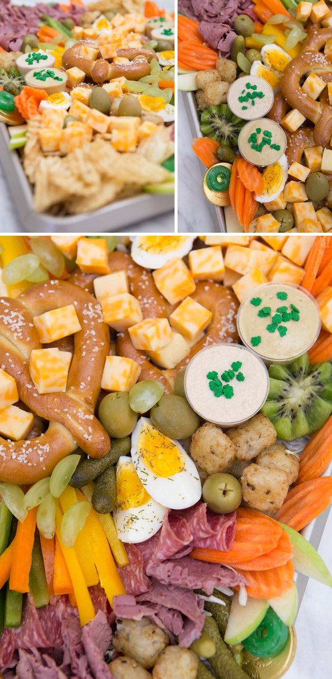 How To Make A St.Patricks Day Snack Board In Under 30 Minutes