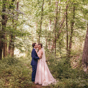 We are in LOVE with this dreamy handmade forest wedding!