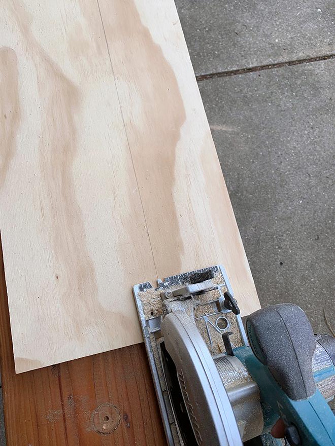 DIY Oversized Pegboard